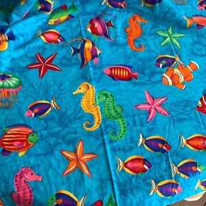 Fish style curtains